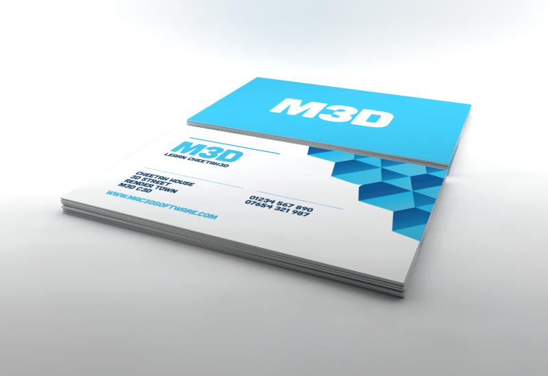 business card render setup file cheetah3d user forum - Business Card File