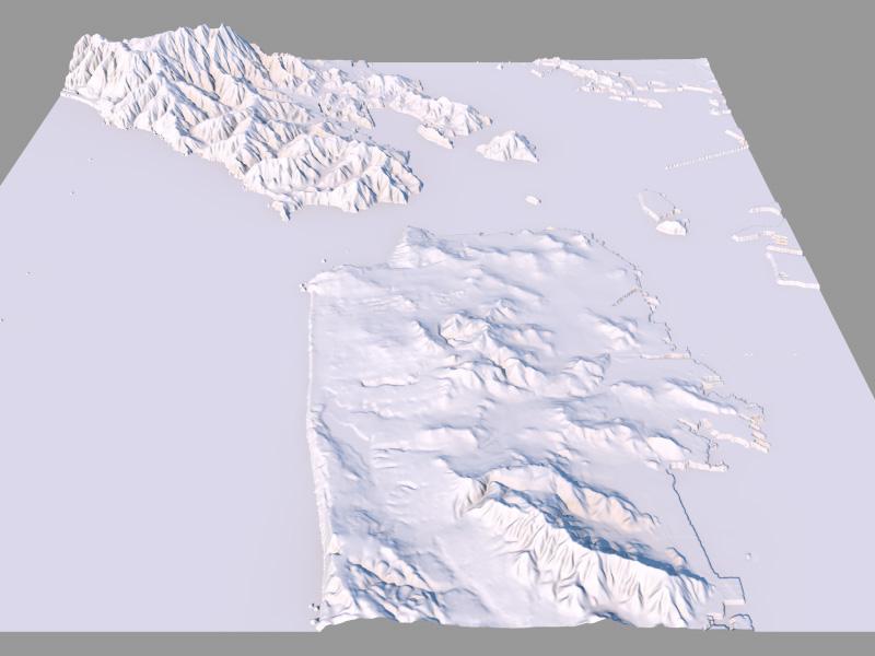 Terrain Party: Real-world height map generator - Cheetah3D