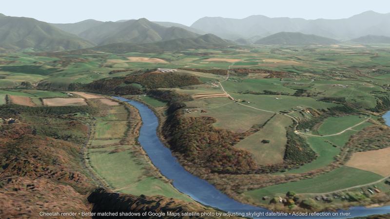 Terrain Party: Real-world height map generator   Cheetah3D User Forum