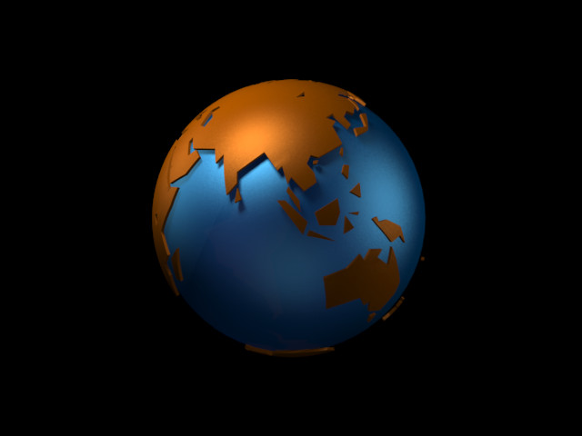 Stylized Globe Cheetah3d User Forum