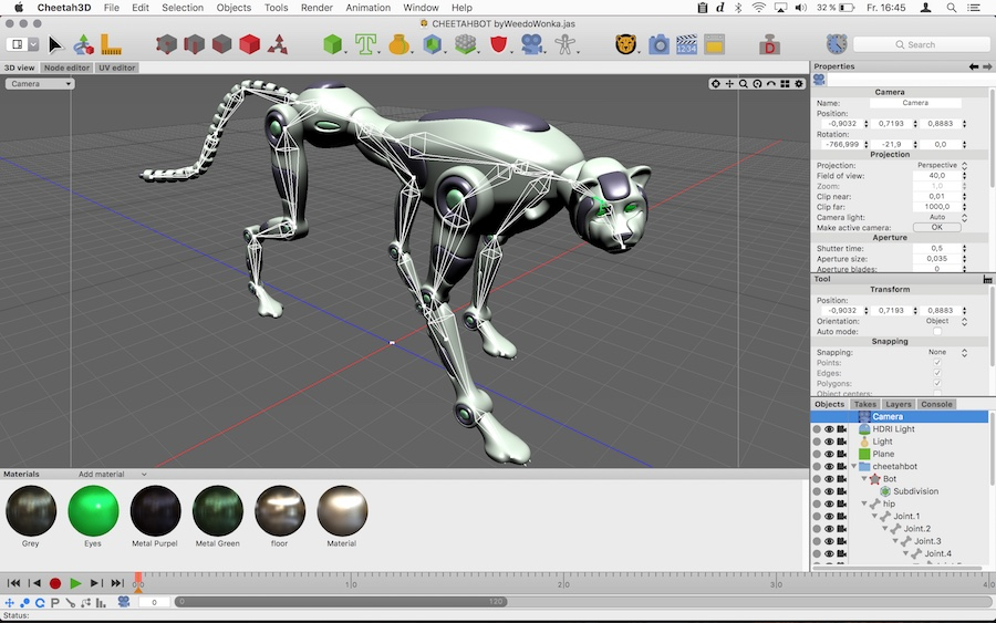 Cheetah3D - 3D Software for Mac
