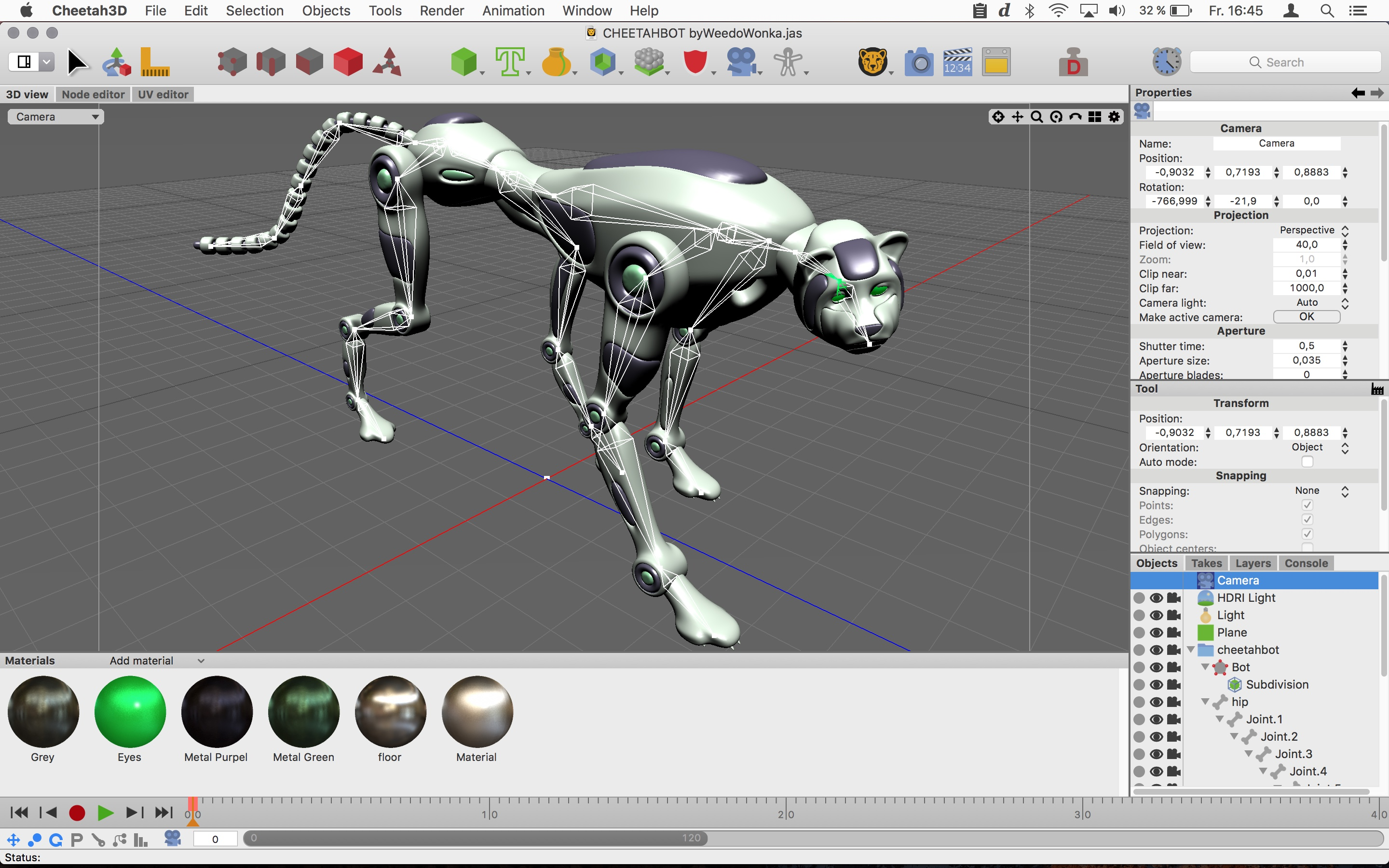 Cheetah3D 7.1 released - Add polygon reduction, loft, better text spline Image