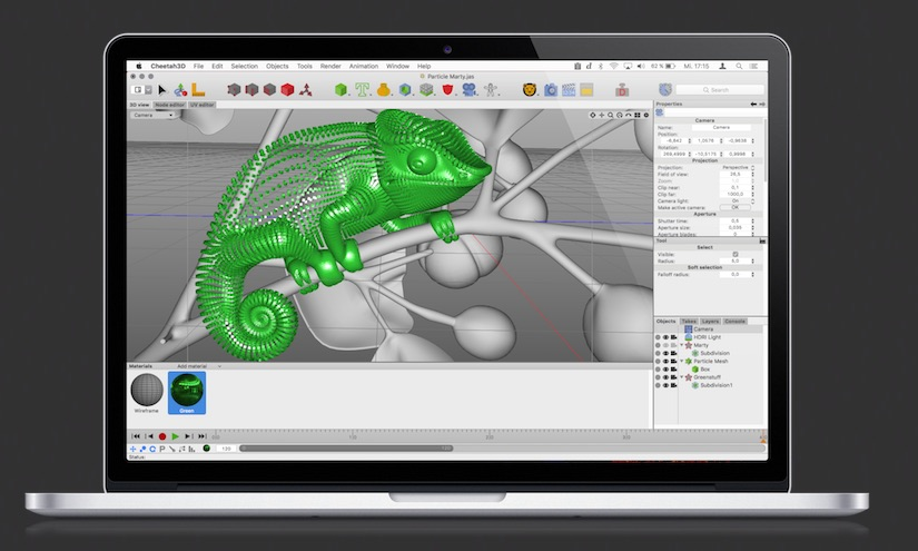 Cheetah3d 3d Modeling And Animation Software For Mac
